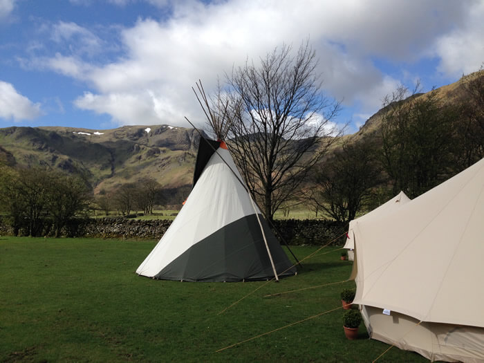 Hire a Tipi Or Bell Tent for your event Enquire today & Tipi u0026 Bell Tent Hire Lake District Camping - Nomad Events
