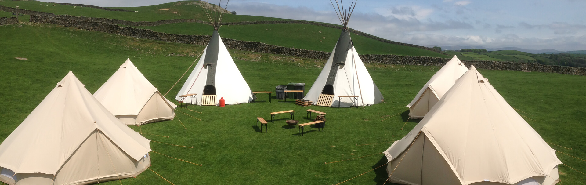 & Tipi u0026 Bell Tent Hire Lake District Camping - Nomad Events